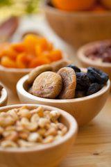 Índice glucémico de frutas, vegetales, frijoles y nueces