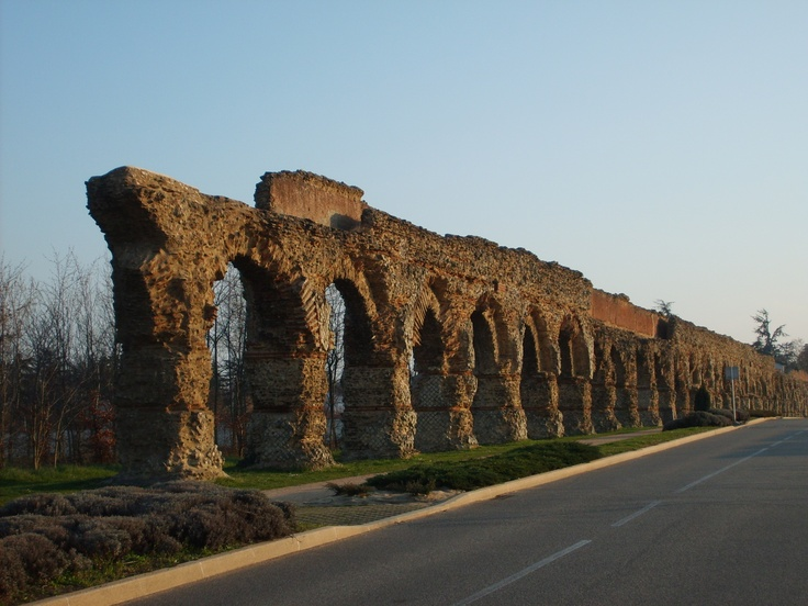 Aqueduct of the Gier, France