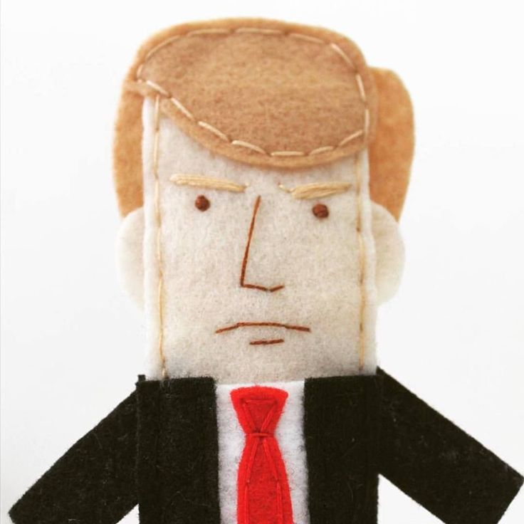 """I love this one - on 16/09/2015 Abbey*Christine posted: """"I'll be holding my own private Republican debate tonight, finger puppet style. The candidates are much easier to take when they're 4"""" tall and can't open their mouths #republicandebate"""" I think we all feel that way about most televised political events! #Feltfingerpuppets"""