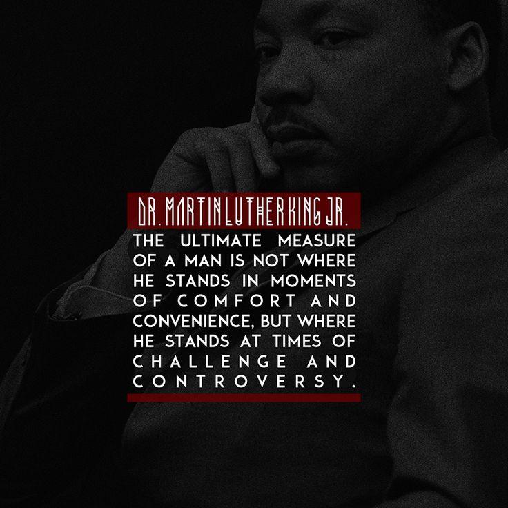 Dr. Martin Lither King Jr.