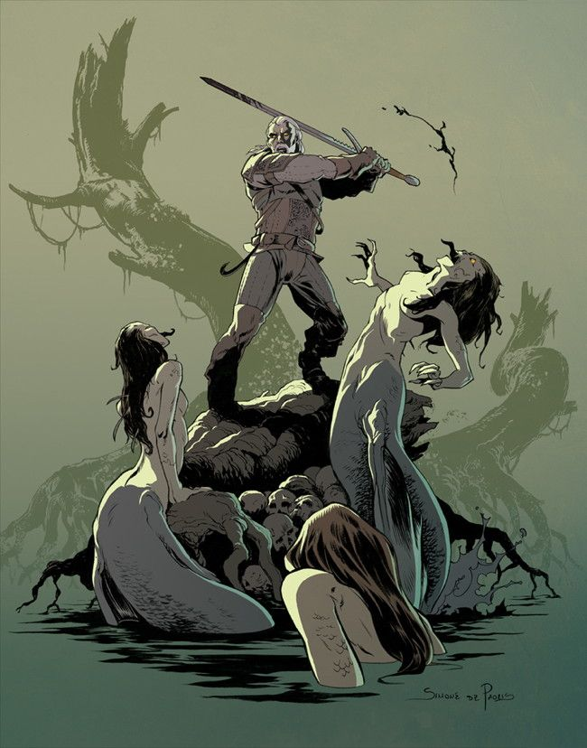 Announcing the Winners of The Witcher Art Contest :: Blog :: Dark Horse Comics