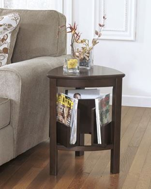 Show details for Larimer - Triangle End Table
