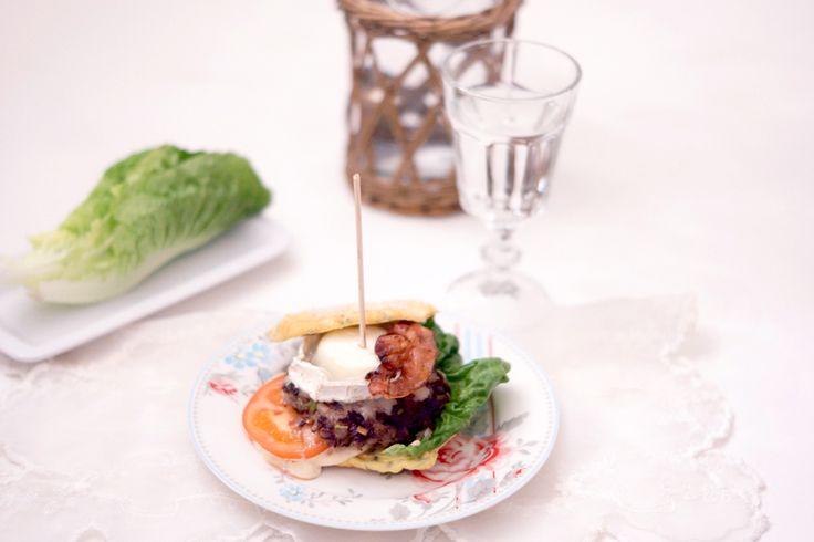 Hamburger m/chevre - Nammis :)