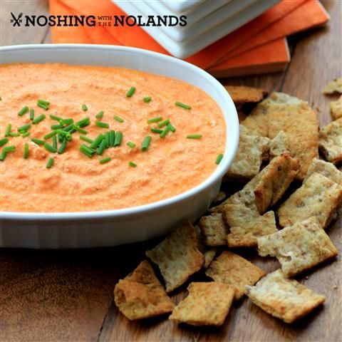 Feta and Roasted Red Pepper Dip - Noshing With the Nolands - ENJI ...