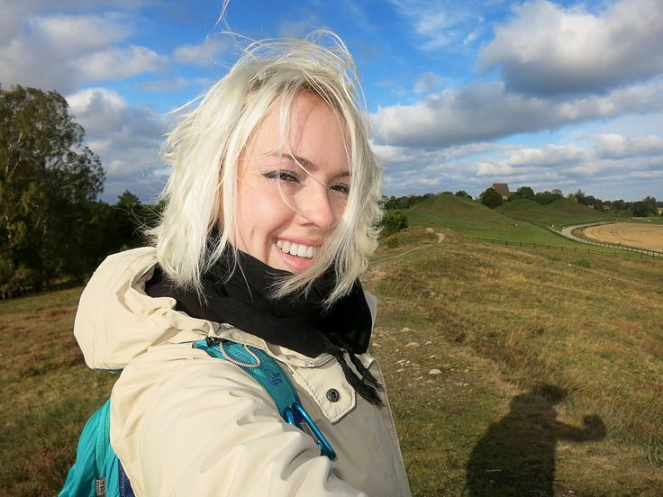 Me in Gamla Uppsala by the ancient kings graves (by Savier)