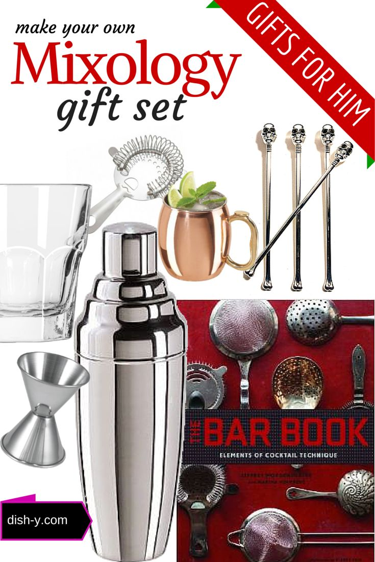120 best gifts for everyone images on pinterest sweets mixology gift set idea for men negle Images