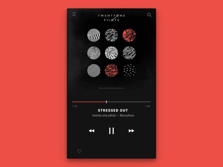 Day 5 - Music Player Rebound by Artem Borodynya