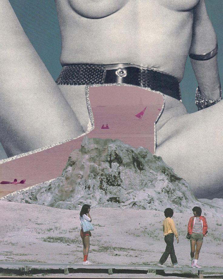 un viaje por los collages surrealistas de kitty callaghan | read | i-D                                                                                                                                                                                 Más