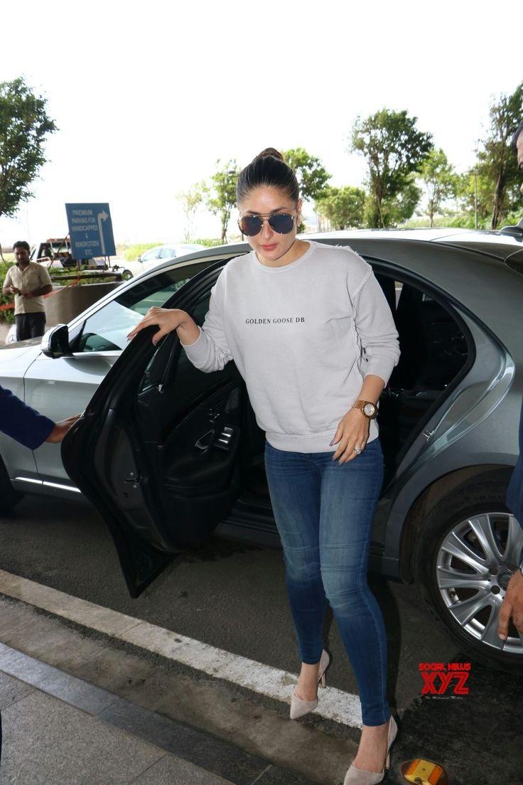 Mumbai: Kareena Kapoor Khan and Taimur spotted at airport - Social News XYZ
