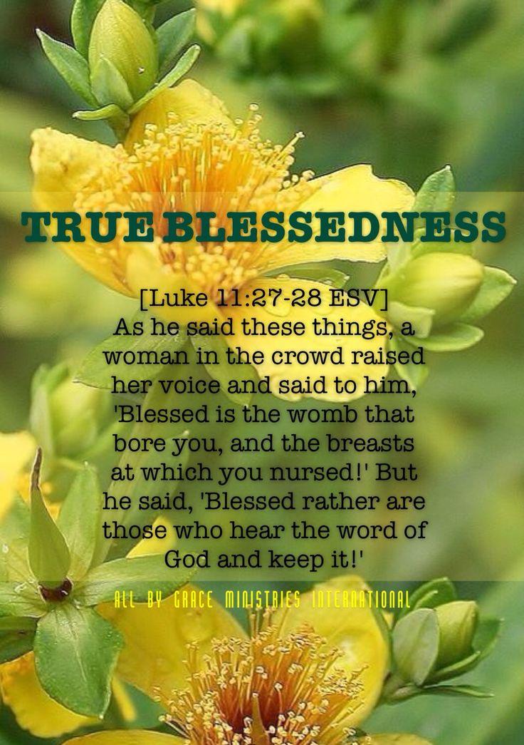 True Blessedness