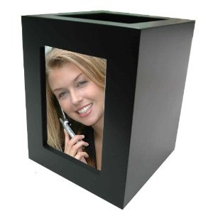 Wood Photo Frame Pen and Pencil Holder (Black) (Office Product) http://www.amazon.com/dp/B004I4FNNS/?tag=dismp4pla-20
