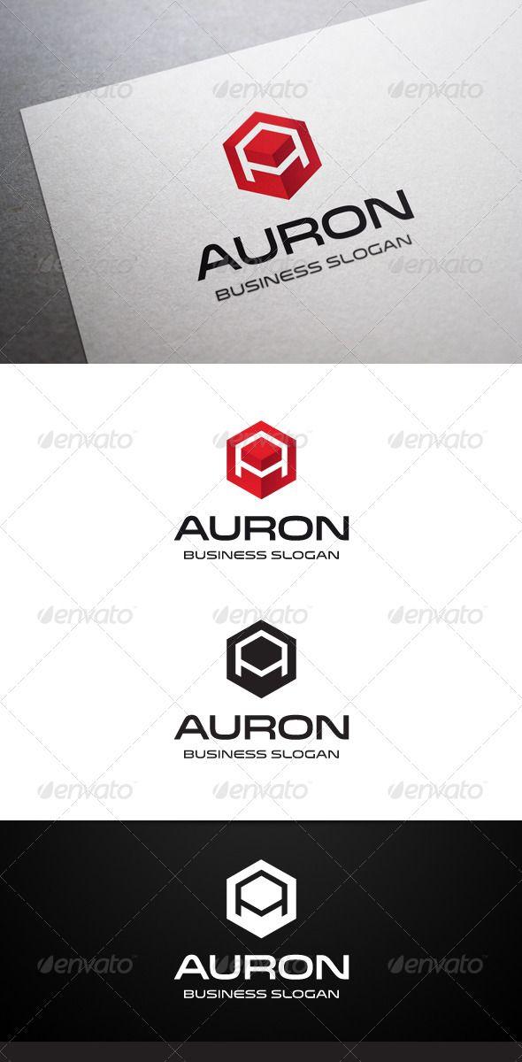 Auron A Letter Logo - Letters Logo Templates