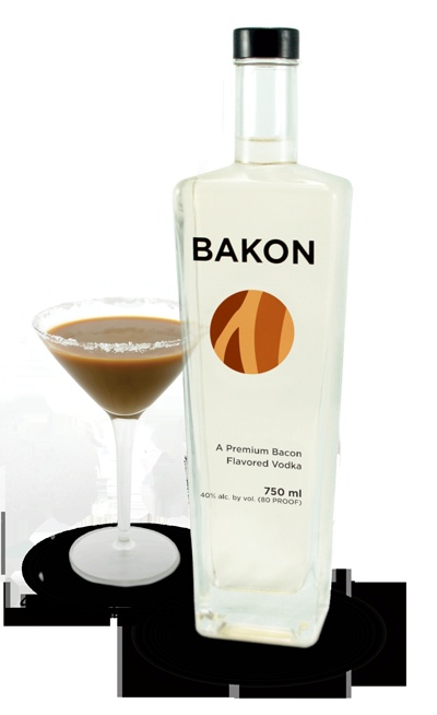 Bacon Flavored Vodka.. @Brett Donaghue.. We have to get this for your dad for his birthday.. hahah