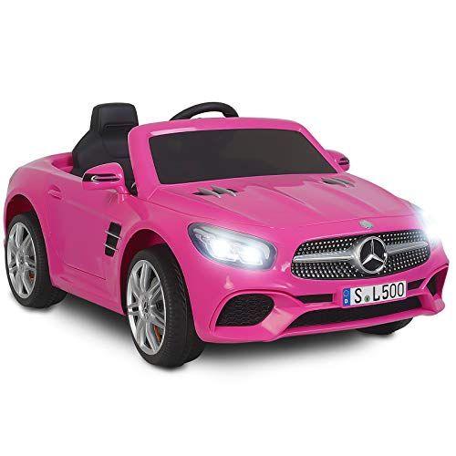 Uenjoy 12 V Mercedes Benz Sl500 Enfants Autorises A Conduire Des Voitures Electriques Pour Enfants Avec Teleco Voiture Electrique Enfant Voiture Enfant Voiture