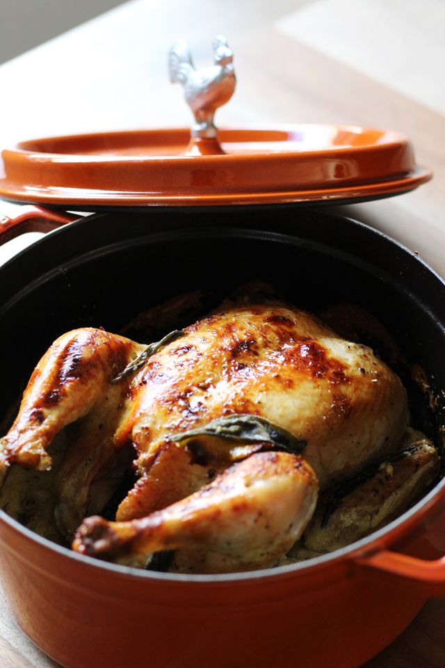 Milk chicken & Staub give away | HonestlyYUM