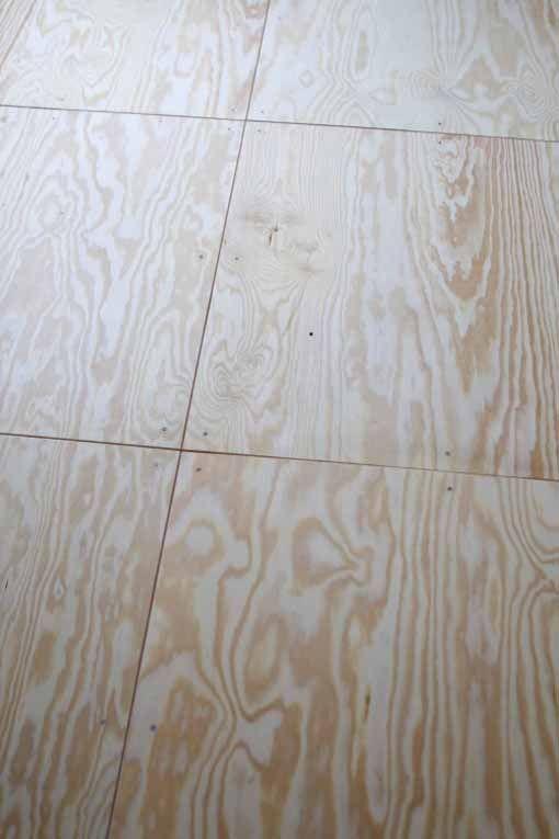 Simple floor