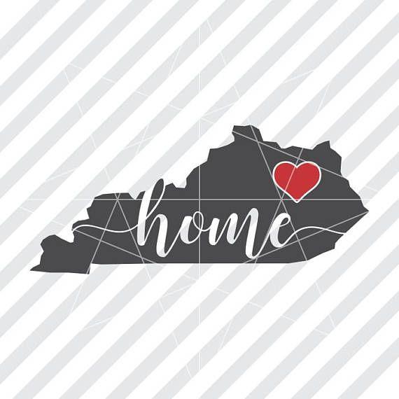 Kentucky Home Svg Kentucky Home Kentucky Svg Kentucky Dxf Kentucky Svg Design Svg