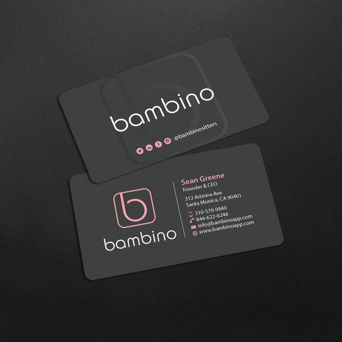 167 best land page design images on pinterest business card create a professional card that instills trust by an designer colourmoves