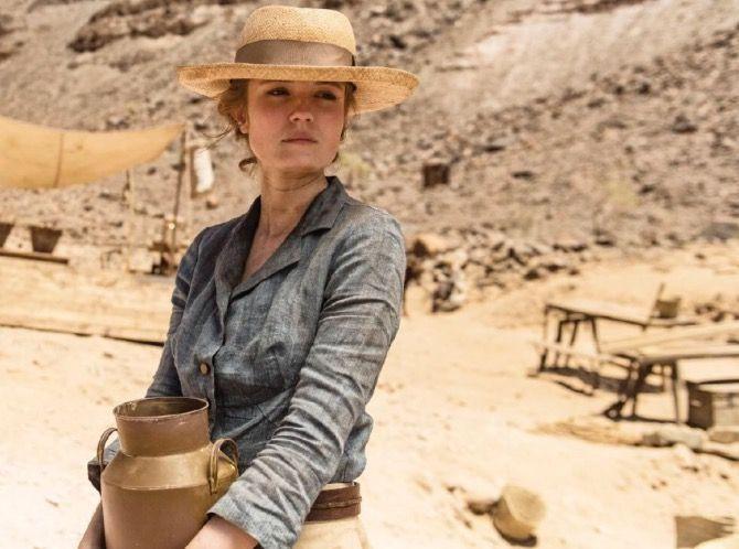 Amy wren as Lady Evelyn Carnarvon in Peter Webber's #Tutankhamun