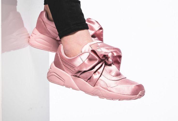 Fenty Rihanna x Puma R698 Box Sneaker (soie rose)