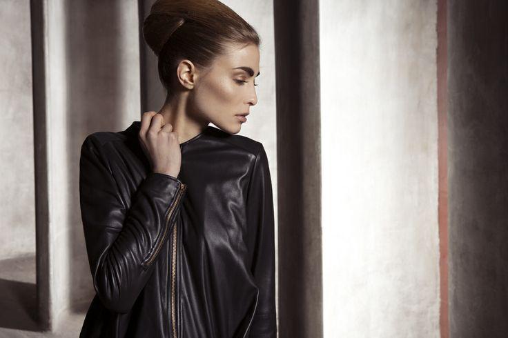 UNEINS Paula Reindeer Leather Jacket