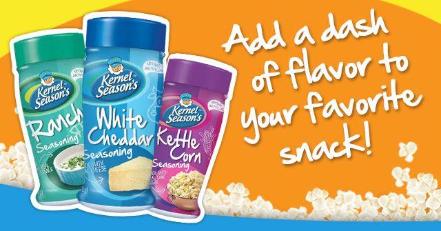 Popcorn Seasoning | Popcorn Flavors & Gifts - Kernel Season's