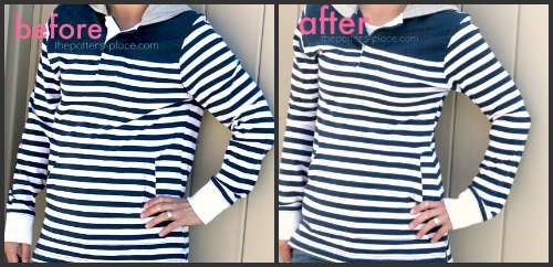 Make your shirt fit better: Creative Retro Clothing, Sewing Projects Gifts, Shirts, Diy Clothes Sewing, Better Fit, Fit Better, Crafts Sewing, Sewing Clothing Projects, Crafts Dyi Sewing