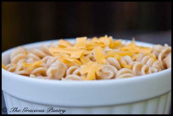 Clean Eating Mac & Cheese from The Gracious Pantry blog.  Can't wait to try it!