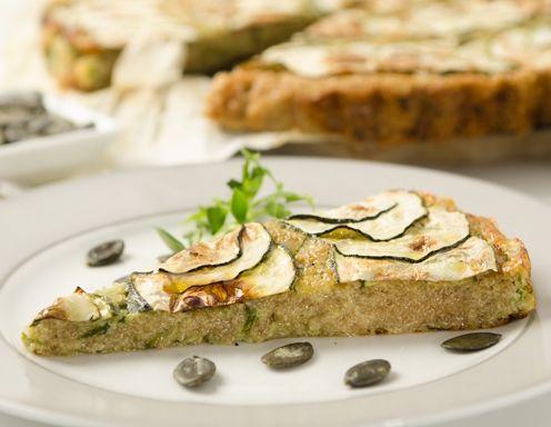 Zucchini-Amaranth-Auflauf