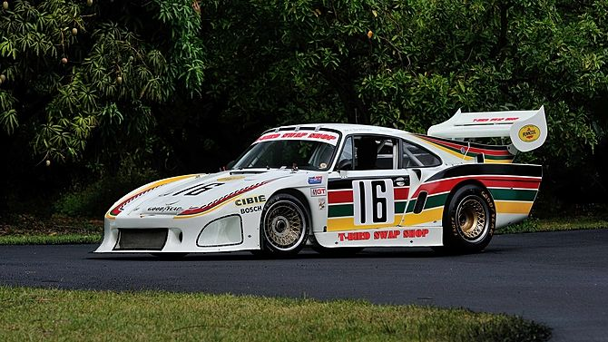 1977 Porsche 934.5/935 IMSA Swap Shop 3rd Overall at The 1981 12 Hours of Sebring presented as lot S175 at Monterey, CA 2014 - image1