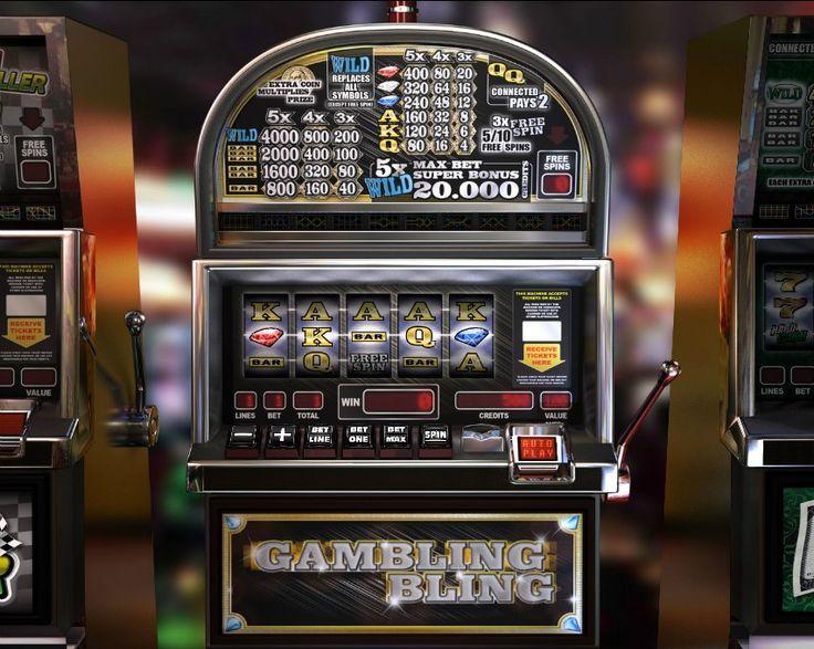 Gambling bling! Classic 5 reel slot! For more games register on http://casino-goldenglory.com/
