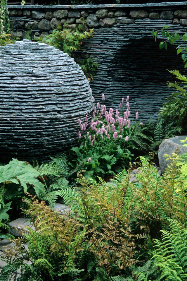rockery garden garden landscaping dry stone garden stones garden art garden design garden ideas garden sculptures cumbria