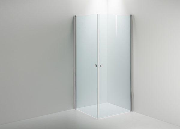Selkeällä muotoilullaan ja rakenteellaan LINC Angel -suihkukulma luo suihkutilaan avaran ja ilmavan tunteen.