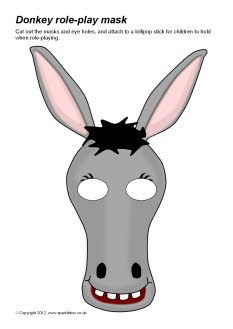 Donkey role-play masks for Balaam lesson?