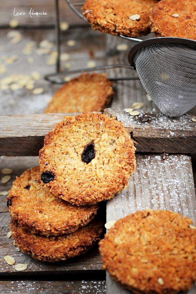 Biscuiti cu fulgi de ovaz Grancereale – Ingrediente (9 bucati) 80 g fulgi de…