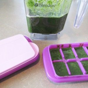 How to freeze spinach for smoothies.  Buy in bulk to save money and never throw away spinach again!