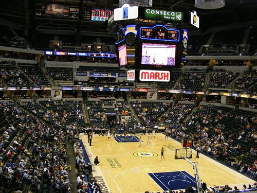 Bankers Life Fieldhouse - Go PACERS!