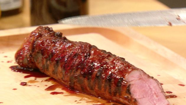 Guy Fieri's Blackberry Jalapeño-Glazed Pork Tenderloin