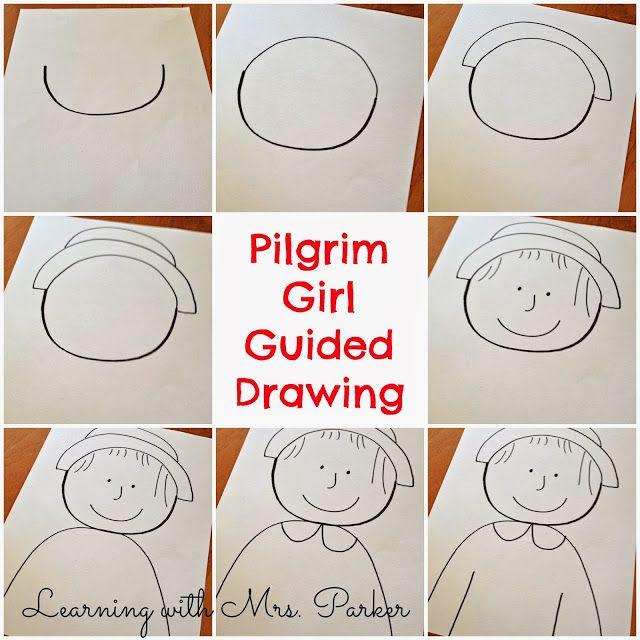 Pilgrim boy and girl