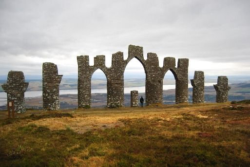 the gates of negapatam, evanton, the scottish highlands