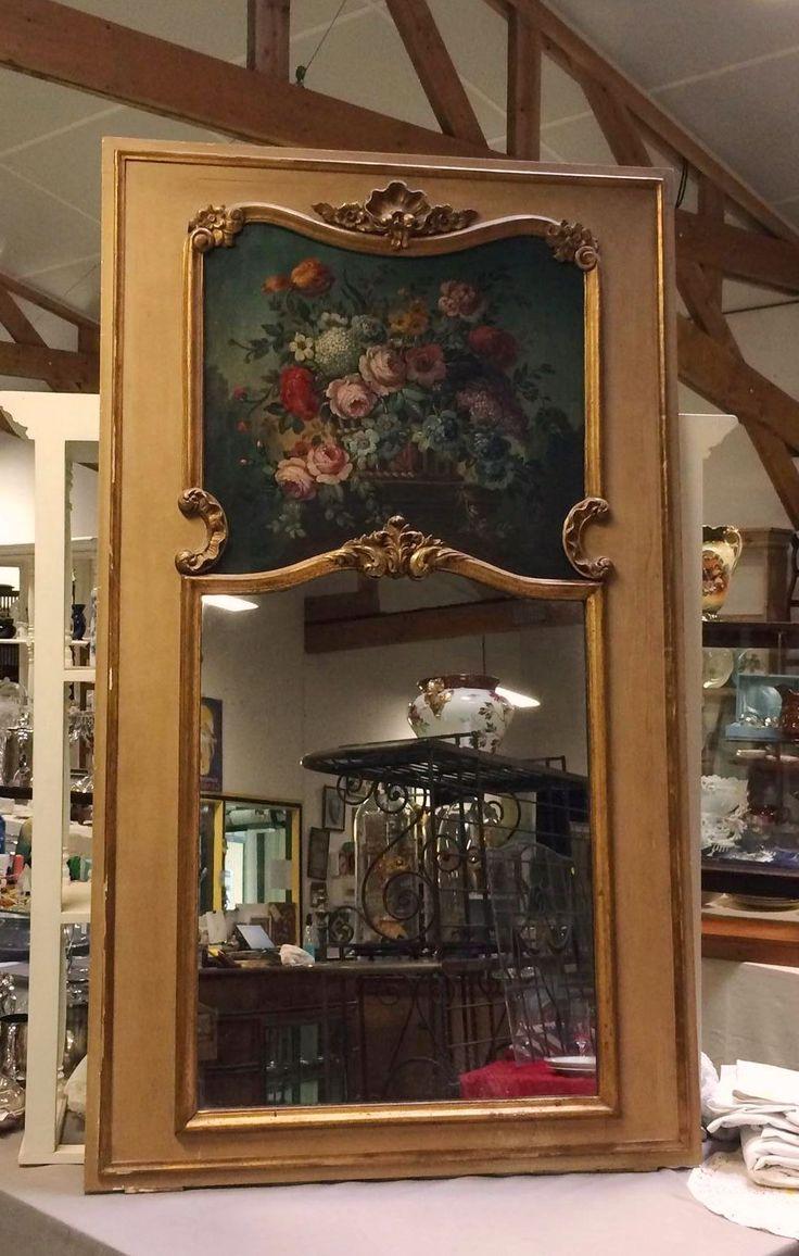 Trumeau de style Louis XV, XIXème.   690€   (H=1m71 L=1m) www.auvieuxchaudron.fr