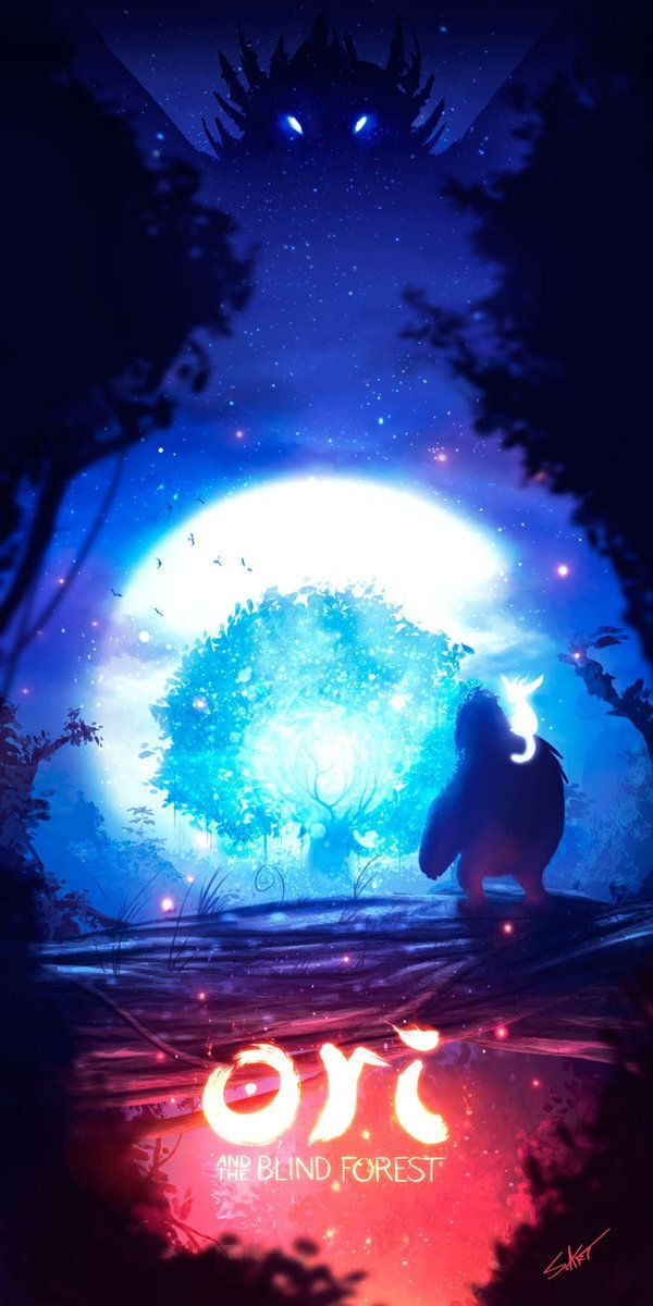 Ori And The Blind Forest Fan Art By Shunart16 Deviantart Com On Deviantart Videogamedesigner Forest Art Fan Art Forest Wallpaper