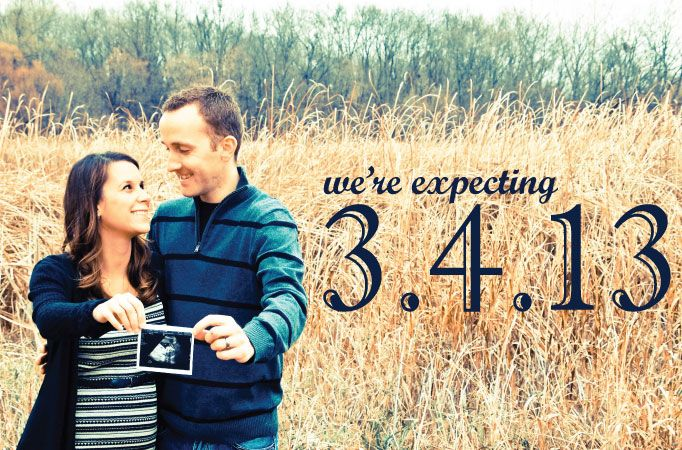 expecting first baby announcements - Google Search