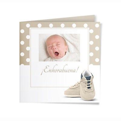 Felicitación Nacimiento Personalizada. Modelo Sleepy
