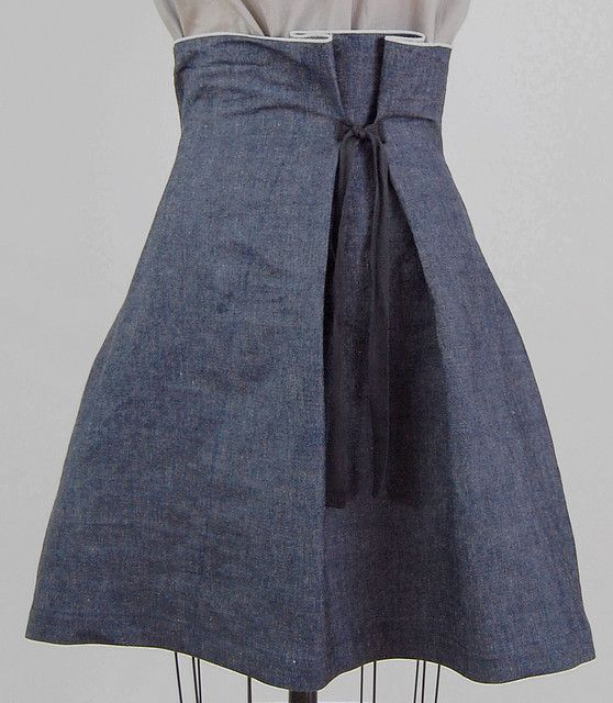 I've been looking for an adjustable, chic, and unobtrusive fastening method to allow for fitted yet flexible shaping on skirts and dresses.  Thanks!