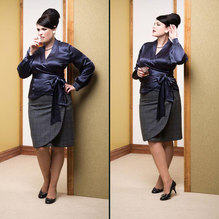 Upper East Side Silk Blouse & CEO skirt. SHOP THE LOOK: Blouse -http://sprinkleemporium.bigcartel.com/product/upper-east-side-silk-blouse