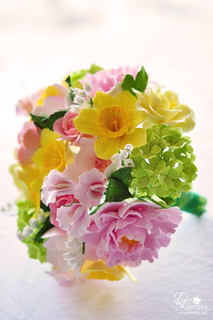 133 best bukiety images on pinterest flower arrangements dk designs a special bouquet sugar flowersbouquet dhlflorist Choice Image