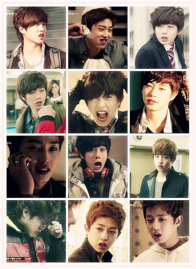 Seo Kyung Jong | Shut Up Flower Boy Band! | Pinterest ...