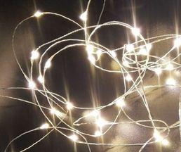 Lankavalosarja, 20 LED, kylmä valkoinen; Crystal Decors | Rellunkulma.fi verkkokauppa