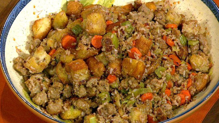Thanksgiving Wild Rice Stuffing | Food | Pinterest